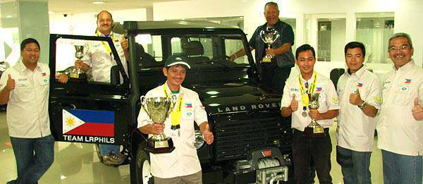 TopGear.com.ph Philippine Car News - Team Land Rover Philippines finishes second in Rainforest Challenge - Malaysia