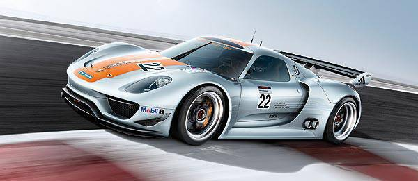 TopGear.com.ph Philippine Car News - NAIAS 2011: Porsche reveals 918 RSR