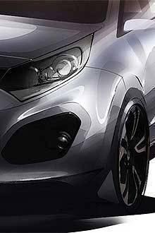 TopGear.com.ph Car News - Kia releases sketches of new Rio