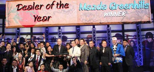 TopGear.com.ph Philippine Car News - Mazda Greenhills is 2010 Mazda Dealer of the Year