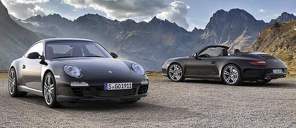 TopGear.com.ph Philippine Car News - Porsche unveils limited-edition 911 Black Edition
