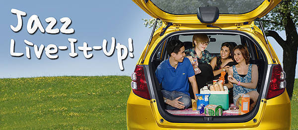 TopGear.com.ph Philippine Car News - Honda promo: Jazz Live It Up