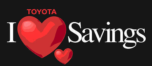 "TopGear.com.ph Philippine Car News - Toyota promo: ""I Love Savings"" for the Love month"
