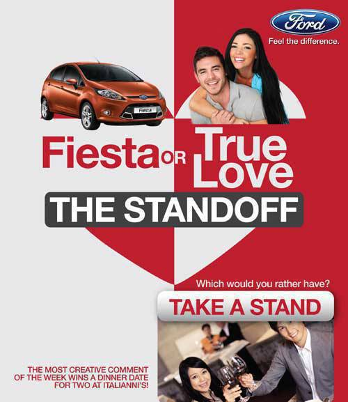 TopGear.com.ph Philippine Car News - Ford promo: Fiesta or true love