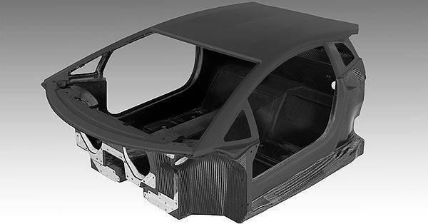 TopGear.com.ph Philippine Car News - Lamborghini reveals next-generation flagship's all-carbon fiber monocoque