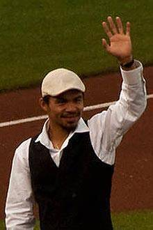 Manny Pacquiao from Wikimedia Commons