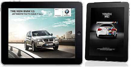 TopGear.com.ph Philippine Car News - BMW X3 iPad
