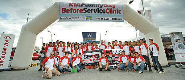 TopGear.com.ph Philippine Car News - Kia holds Family Day Service Clinic