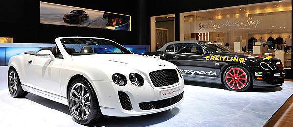 TopGear.com.ph Philippine Car News - Geneva Motor Show: limited-edition Bentley Continental Supersports convertible