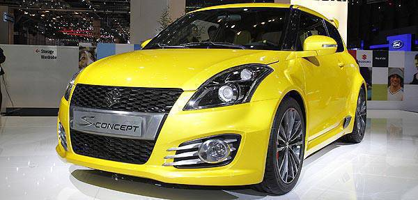 TopGear.com.ph Philippine Car News - Geneva Motor Show: Suzuki Swift S-Concept