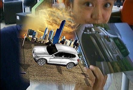 TopGear.com.ph Philippine Car News - BMW X3 on Augmented Reality
