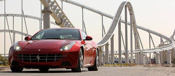 TopGear.com.ph Philippine Car News - Ferrari takes the FF to the sand dunes of Abu Dhabi