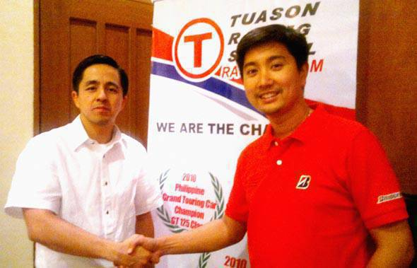 TopGear.com.ph Philippine Car News - TRS - Bridgestone partnership