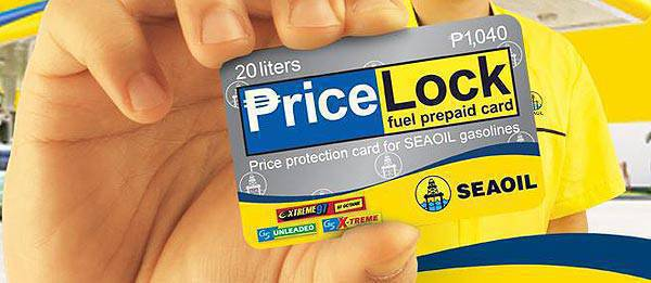 TopGear.com.ph Philippine Car News - Seaoil guarantees no price increase with relaunched prepaid fuel card