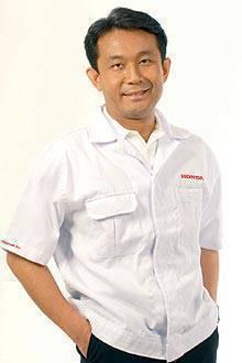 Honda Cars Philippines President Hiroshi Shimizu