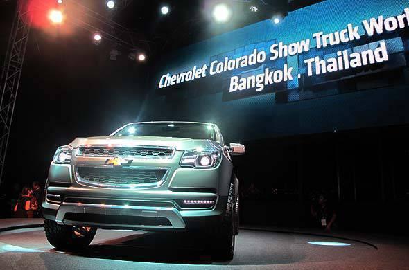 Chevrolet Colorado show car unveiled in Bangkok