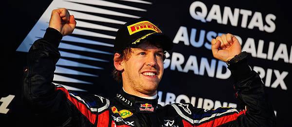 TopGear.com.ph Philippine Car News - 2011 Formula 1: Vettel tops first race of the season