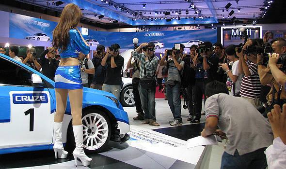 TopGear.com.ph Philippine Car News - The babes of the 2011 Bangkok Motor Show