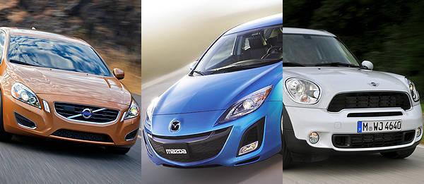 TopGear.com.ph Philippine Car News - Volvo, Mazda, Mini earn insurance organization's Top Safety Pick awards