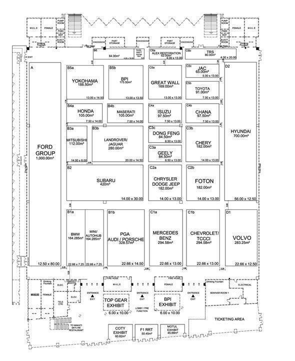 MIAS 2011 Floor Plan