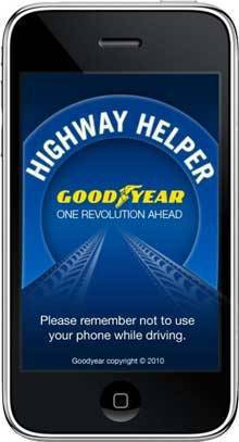 Goodyear iPhone App