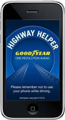 Goodyear iPhone App