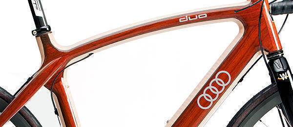 TopGear.com.ph Philippine Car News - Audi creates wooden bicycles