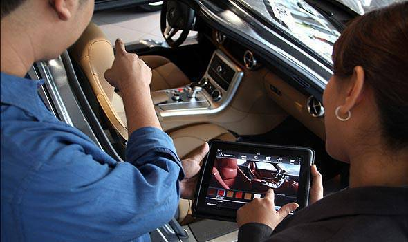 TopGear.com.ph Philippine Car News - CATS Motors goes digital with Mercedes-Benz iShowroom