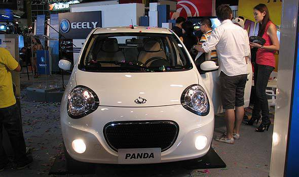 Geely Panda at MIAS 2011