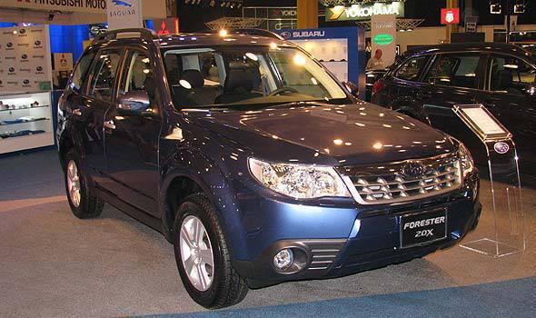 Subaru Forester at MIAS 2011