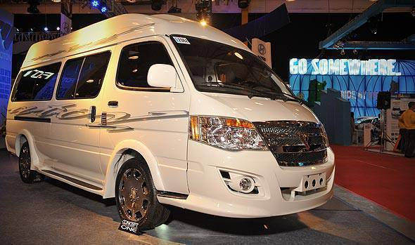 TopGear.com.ph Philippine Car News - A-Toy Bodykits customizes Foton View van