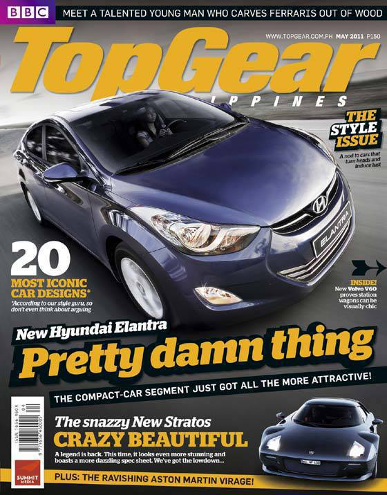 Top Gear Philippines May 2011 Cover