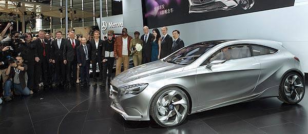 TopGear.com.ph Philippine Car News - Auto Shanghai 2011: Mercedes-Benz Concept A-Class