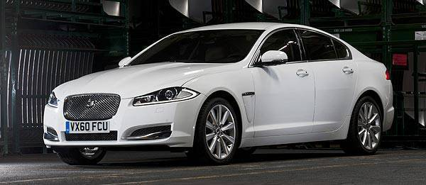 TopGear.com.ph Philippine Car News - Jaguar facelifts XF, XFR sedans