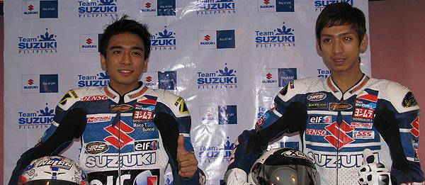 TopGear.com.ph Philippine Car News - Suzuki to field local team in 2011 Asian Road Racing Championship