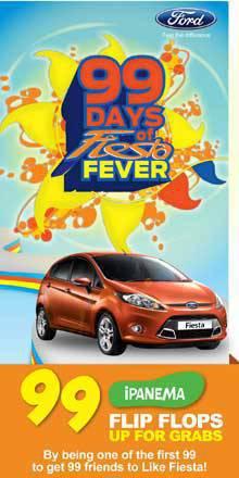 Ford Fiesta Facebook Challenge