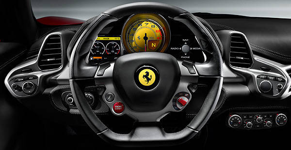 TopGear.com.ph Philippine Car News - Ferrari teaches you how to operate the 458 Italia in video