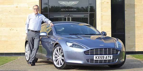 TopGear.com.ph Philippine Car News - Aston Martin boss to auction of his Rapide for Japan