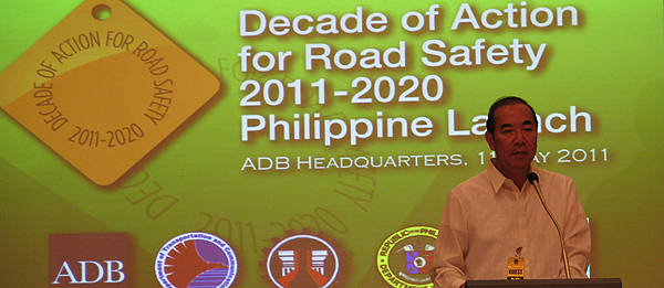 TopGear.com.ph Philippine Car News - UN's Decade of Action for Road Safety launched globally today