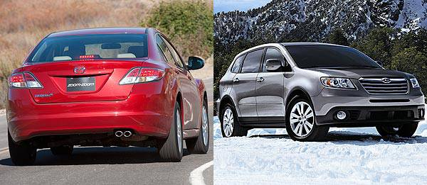 TopGear.com.ph Philippine Car News - Subaru Tribeca, Mazda 6 to be axed – report