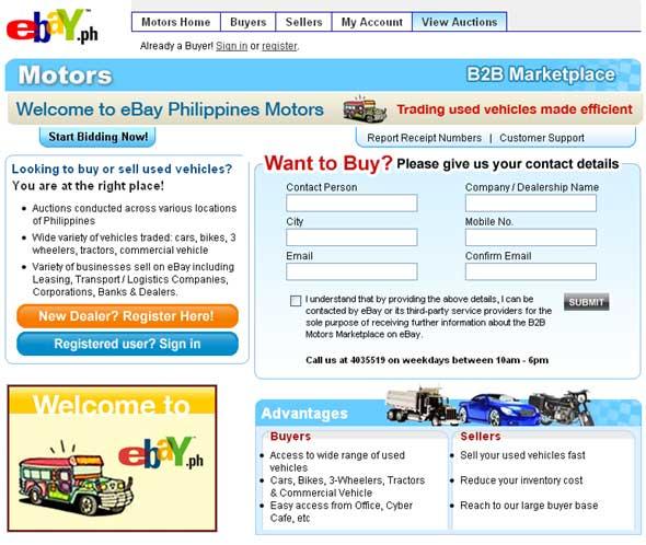 eBay Motors Philippines