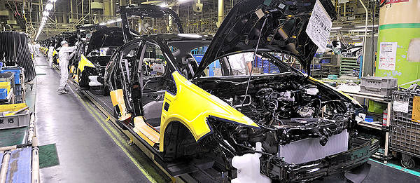 TopGear.com.ph Philippine Car News - Japanese auto production, export continues to reel from March 11 disasters