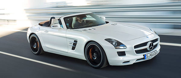 TopGear.com.ph Philippine Car News - Mercedes-Benz officially unveils SLS AMG Roadster