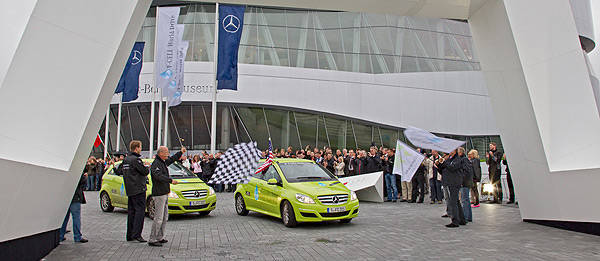 TopGear.com.ph Philippine Car News - Mercedes-Benz F-Cell around-the-world drive completed in 70 days