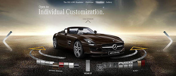 TopGear.com.ph Philippine Car News - Mercedes-Benz SLS AMG Roadster configurator now online