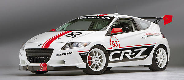 TopGear.com.ph Philippine Car News - Honda's US racing arm to demo race-ready CR-Z at Le Mans