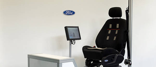 TopGear.com.ph Philippine Car News - Ford developing car seat that monitors driver's heart rate