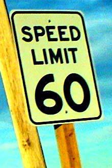Speed limit sign from SXC.hu