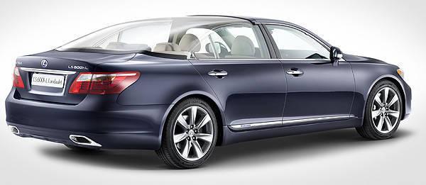 TopGear.com.ph Philippine Car News - Lexus reveals bespoke LS 600h for Monaco royal wedding