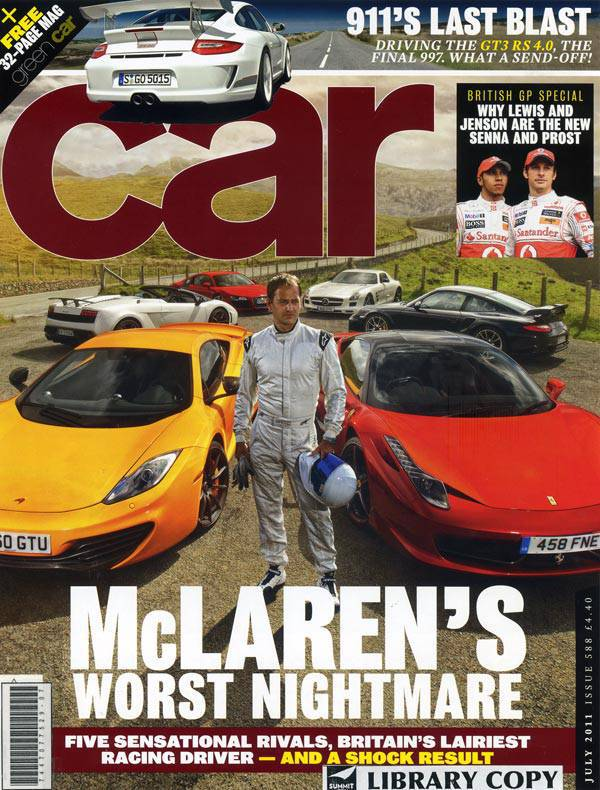 Stig Ben Collins on Car magazine